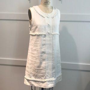 White linen See by Chloe shift dress
